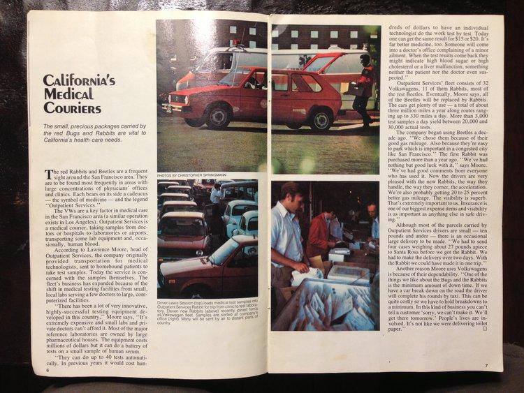 MCI's write up in Small World Magazine